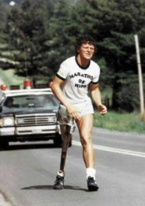 The remarkable Terry fox cancer story