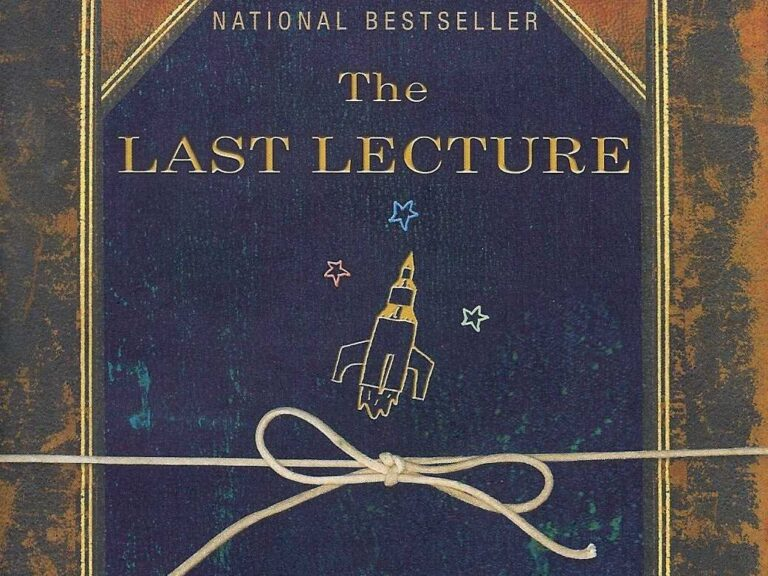 The Last Lecture: Randy Pausch (Pancreatic Cancer)