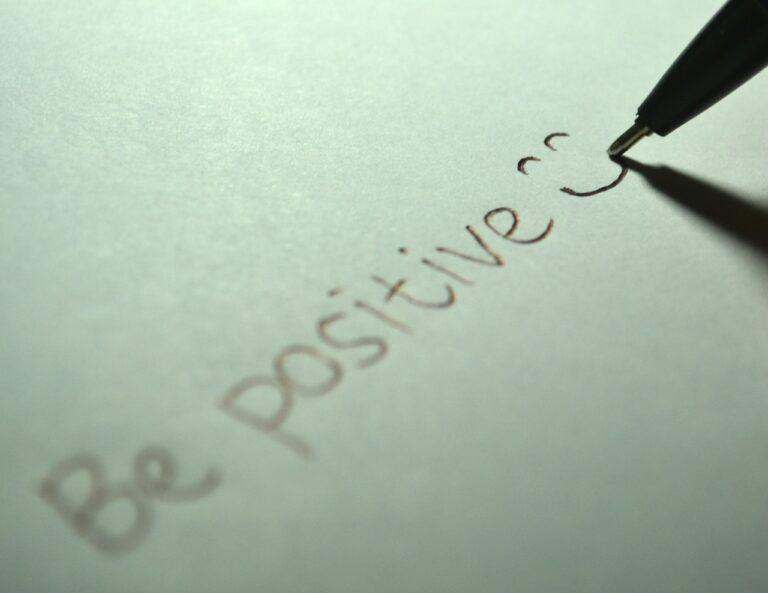 Think Positive, Live Longer