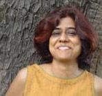 The author, Gunjan at medical centre