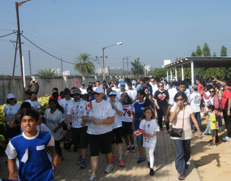 Outrunning Cancer: Nitin Tolani Helms Terry Fox Run in Bangalore