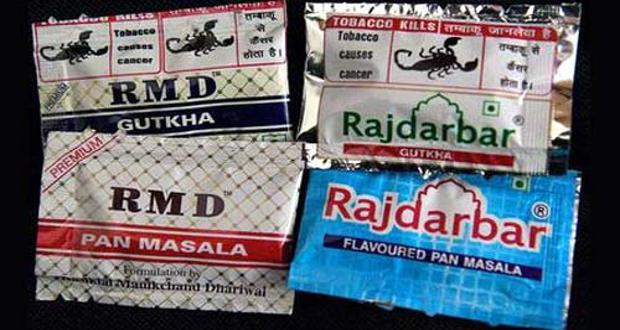 Packets of Gutka