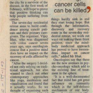 Deccan Chronicle, Bangalore, May 2011